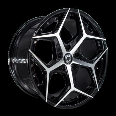 C5194 Marquee wheel Black Polish side
