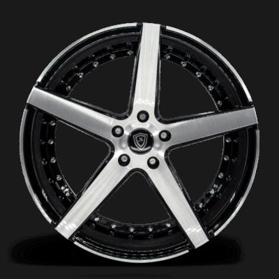 M3226 Marquee Wheel Polish Spoke Black