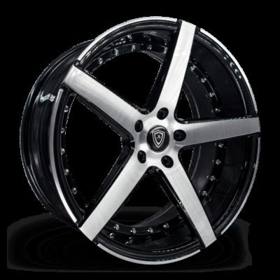 M3226 Marquee Wheel Polish Black Side