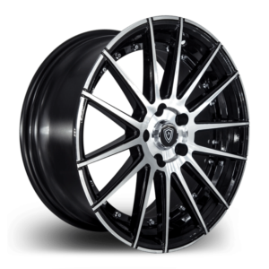 m8150 Marquee Wheels Polish Black