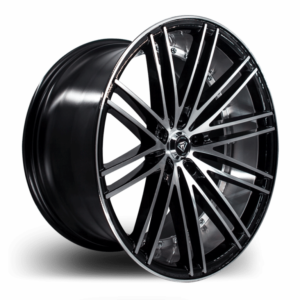 M3246 Marquee Wheel Black Polish Side