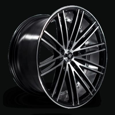 M3246 Marquee Wheel Black Polish Side