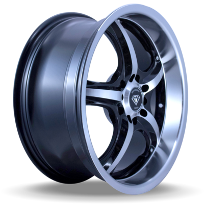 W511 polish black side wheel
