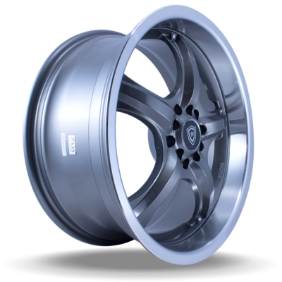 W511 polish gun metal side wheel