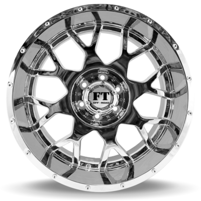 FT0151 CHROME FRONT WHEEL