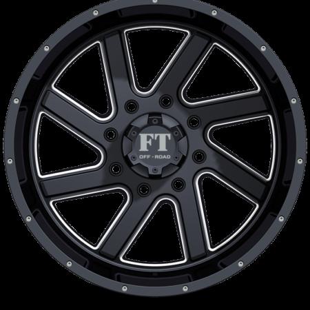 FT1 Black milled front