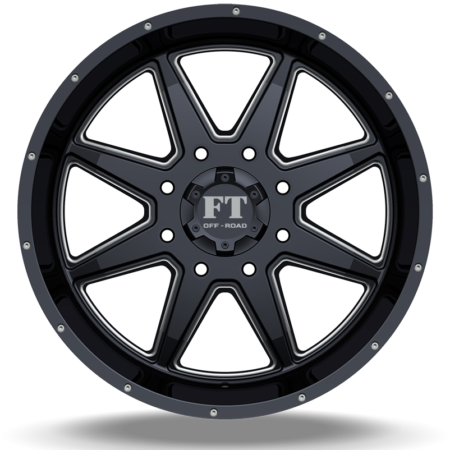 FT2 BLACK MILLED FRONT