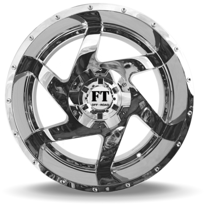 FT6052 Chrome front wheel