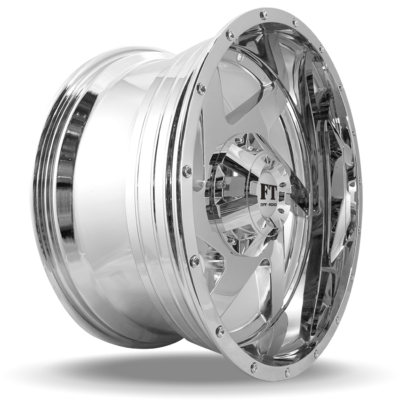 FT6052 Chrome side wheel
